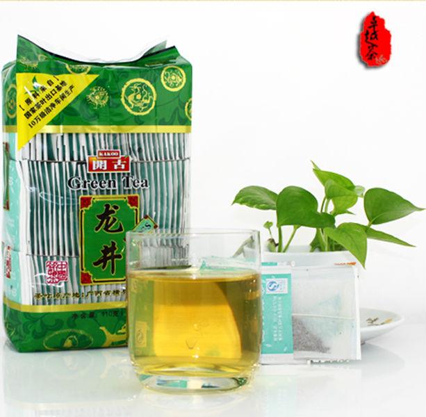 special sale green tea 110g early spring tea natural organic lowering blood pressure Longjing bags ZYG