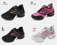 Brand New High Quality EU35-40 Sports Soft Outsole Breath Dance Shoes Sneakers Woman SPort  Shoes Modern Dance Jazz Shoes