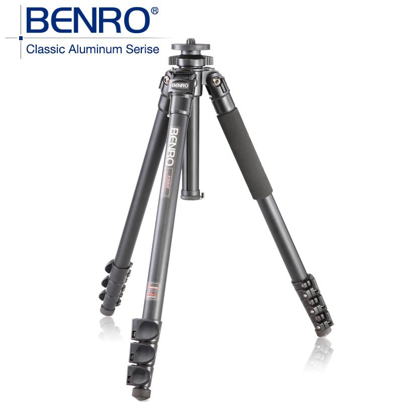 BENRO A3580F Aluminum Tripod Leg Universal Support Tripods For Canon Nikon Sony Mini Camera 4 Section,Max loading 15kg(China (Mainland))