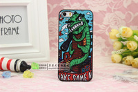 Free shipping+For iphone5 5s & 4 4s The dinosaur eyes NO2 phone cases for iphone 5 5s & 4 4s