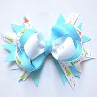 Baby Hiar Bows Hair clips &Hairpins Boutique Hair Bows Ribbon Bow Hairbows Hair Pins Baby Girl Hair Accessories 12pcs/lot