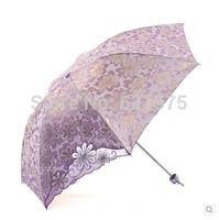 2014 Effectively blocking 99.99% of UV rays, protecting the skin Creative folding sun umbrella FREE SHIPPING