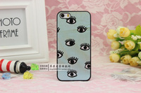 Free shipping+For iphone5 5s & 4 4s The dinosaur eyes NO6  phone cases for iphone 5 5s & 4 4s