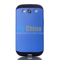 2014 New High Quality 2 in 1 Slim Armor PC & TPU Back Case for Samsung Galaxy S3 i9300 1PCS Free Shipping