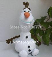 IN HAND!!LOTS 2014 NEW by Ty Original Cartoon Princess OLAF SNOWMAN 12INCHES 30CM STUFFED DOLL TOY MOVIE  TOY boneca pelucia
