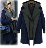 casacos femininos 2014 new winter coat women sobretudo European style woollen coat female straight type overcoat