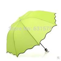 2014 Fresh creative folding umbrellas UV ultralight FREE SHIPPING