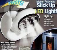 3pcs/lot New Hot Sale LED Night Light 360 Degree Rotate Motion Sensor Cordless Lights Free Shipping As Seen On TV Only $23.99