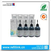 LIVE COLOR KKKK 100ml bottle black for hp ink t120 T520 for Hp 711 XL  qualified digital printing ink