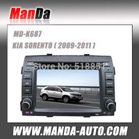 2 Din Car dvd for KIA SORENTO 2009 2010 2011 gps Navigation system In Car Radio Mp3 Ipod BT cd dvd All Function