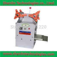 Electrical heating sealer cup box snack sealing machine plastic film capping sealer 300W food beverage packaging sealers tools