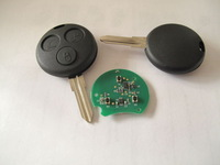 FOR MERCEDES BENZ MB Smart Fortwo FORFOUR remote fob key 3 button FULL KEY blade 434 MHZ