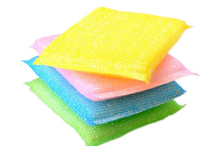 sponge dishclout cleaning brush washing brush pot cloth 128(China (Mainland))