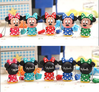 TOP4 Cartoon cute Minnie 16GB pen drive USB disk pen drive usb flash drive memory stick/thumb/gift