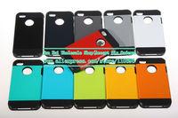 Wholesale 100pcs/lot New Korean Style Tough Armor SGP Case for iPhone 5/5S Neo Hybird SPIGEN Slim Hard Back Cover 11 Colors