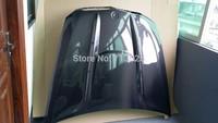 for BMW X6 car front engine hood bonnet carbon fiber  HM style
