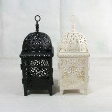 Wholesale 553S iron candlestick Morocco lantern wedding gifts(China (Mainland))