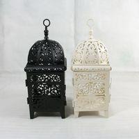 Wholesale 553S iron candlestick Morocco lantern wedding gifts