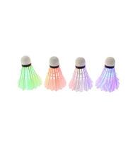Dark Night LED Badminton Shuttlecock Birdies Lighting  Free drop shipping