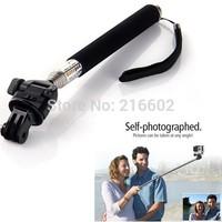 GoPro HERO2 3 Extendable go pro Camera accessories/telescope Pole Mount Portable Monopod Handheld Tripod Mount free shipping