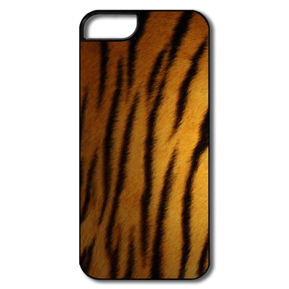 Designer Skin Logo For Iphone 5 5s Cover Design Funny Tiger Skin Party ...