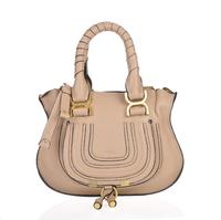 Top quality original brand marcie real calf leather khaki ambre tote handbag shoulder bag fashion gift free shipping wholesale