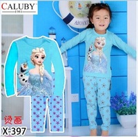 X-397 boy cartoon pajamas Children's clothing that occupy the home Pure cotton pajamas foreign trade children's tong