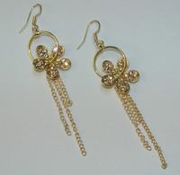 Fashion long earrings women earring crystal Korean version decorations drop earring