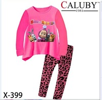 X-399 boy cartoon pajamas Children's clothing that occupy the home Pure cotton pajamas foreign trade children's tong