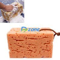 Durable Honeycomb Car Coral Cleaning Car Macroporous Washing Sponge 9CM #58764