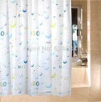 EVA shower curtain hooks new 16 silk curtains thick waterproof mildew shower curtain shower curtain drops