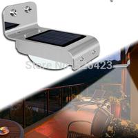 16 LEDs Solar Power Lamp Light Auto PIR Sensor Voice Sound Induction Detector