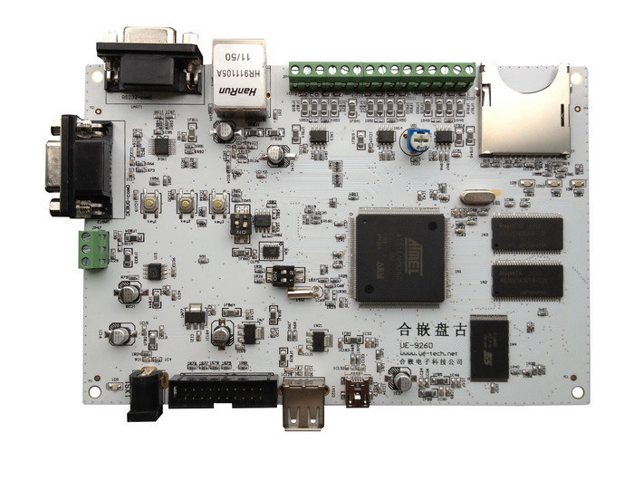 Onboard accelerometer development board linux Pangu AT91SAM9260 ARM9 embedded industrial grade combined single(China (Mainland))