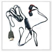 Red Stereo Headset Handsfree Earphone For Samsung M8920 MYSHOT-II OMNIA-2-II R850 S1550