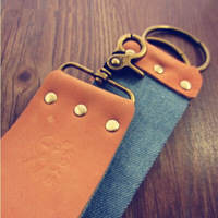 Vintage Thickened Razor Leather Canvas Cloth, Double-Face Razor Leather Strop Free Shipping