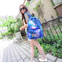 Brand New 2014 Fashion men's backpacks starry sky travel bags School bags Fastness Men/Women Casual Nylon Rucksack Free shipping