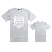 2014 new Thrasher Worldwide t shirts fashion o-neck hip hop shirt for man white print logo 11 colors
