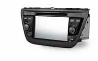 Free shipping 3G WIFI double din car dvd for Suzuki sx4 2014 with GPS IPOD RDS AUXIN Steel wheel controing