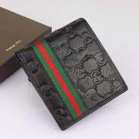 2014 Hot men money clips genuine leather brand men purses New design convenient pocket men wallets