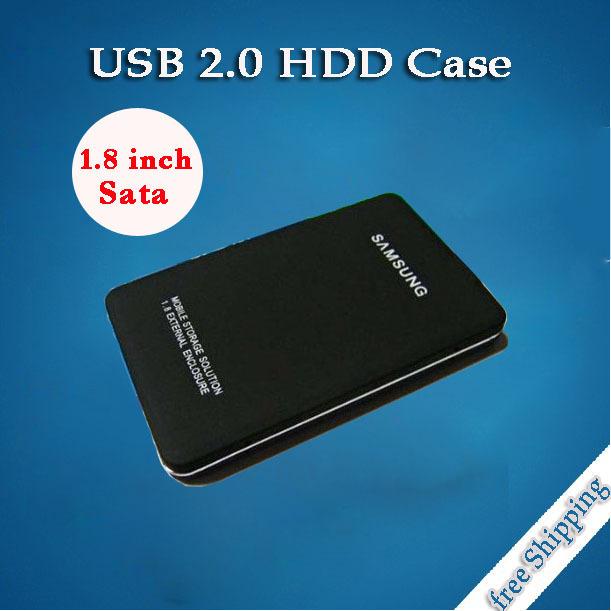 Micro Sata to Usb External SSD HD Externo Hard Drive Disk Case Mini Hard Disk Aluminum External HDD Enclosure Box Case(China (Mainland))