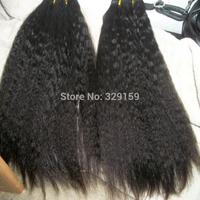 6A Queen Weave Beauty Human Hair Peruvian Virgin Hair Kinky Straight 100% Unprocessed Hair 2pcs/3pcs lot Free sjipping