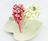 Free Shipping Lovely princess girls fishtail flower children's hair band Hair Clasp (6 Pack)
