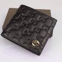 hot sale men money clips 2014 genuine leather men wallets short design brand new design men money clips