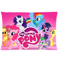 Cotton Pillow Case Custom My Little Pony PillowCase Standard Size 20x30 One Side Got it