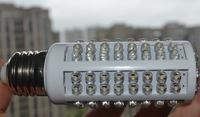 Ultra bright LED bulb 7W E27 220V Cold White light LED lamp with 108 led 360 degree Spot light Free shipping