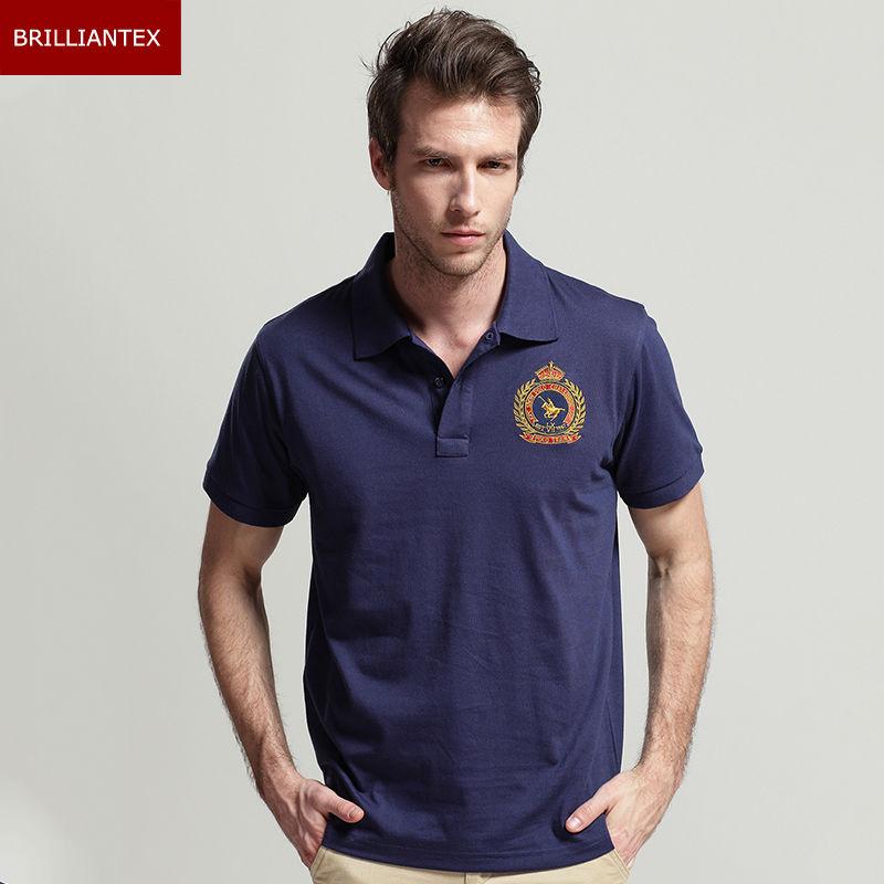 Custom design cotton pique embroider polo shirt(China (Mainland))