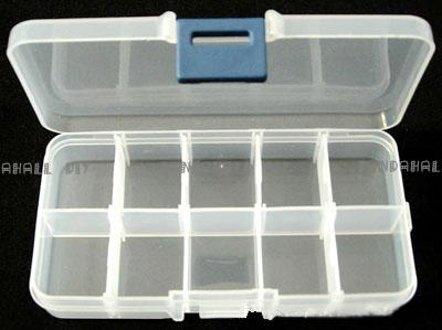 Plastic Clear Beads Display Storage Case Box, Bead Storage Containers, 7x13x2.3cm(China (Mainland))