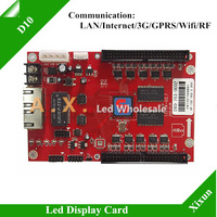 Xixun D10 Led Receiving Card For Large Outdoor Full Color Led Advertising Screen