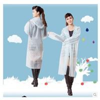 Free shipping Siamese single transparent electric cars raincoat, bike poncho, fashion adult rain gear