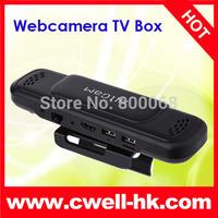 Allwinner A31s Quad core Android 4.2 Smart TV Box HD5 5.0MP AF Webcam Camera Dual Mic Dual Speaker Bluetooth WIFI